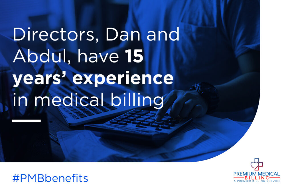 15 Years of Experience in Medical Billing